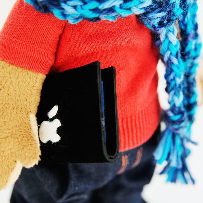 Handmade іграшка Мавпочка з планшетом