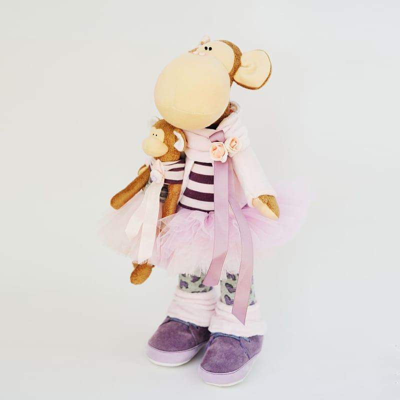Інтер'єрна лялька Мавпочка Мама