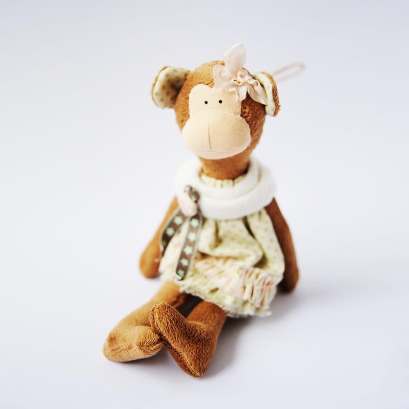 Дизайнерська іграшка Handmade Плюшева Мавпочка