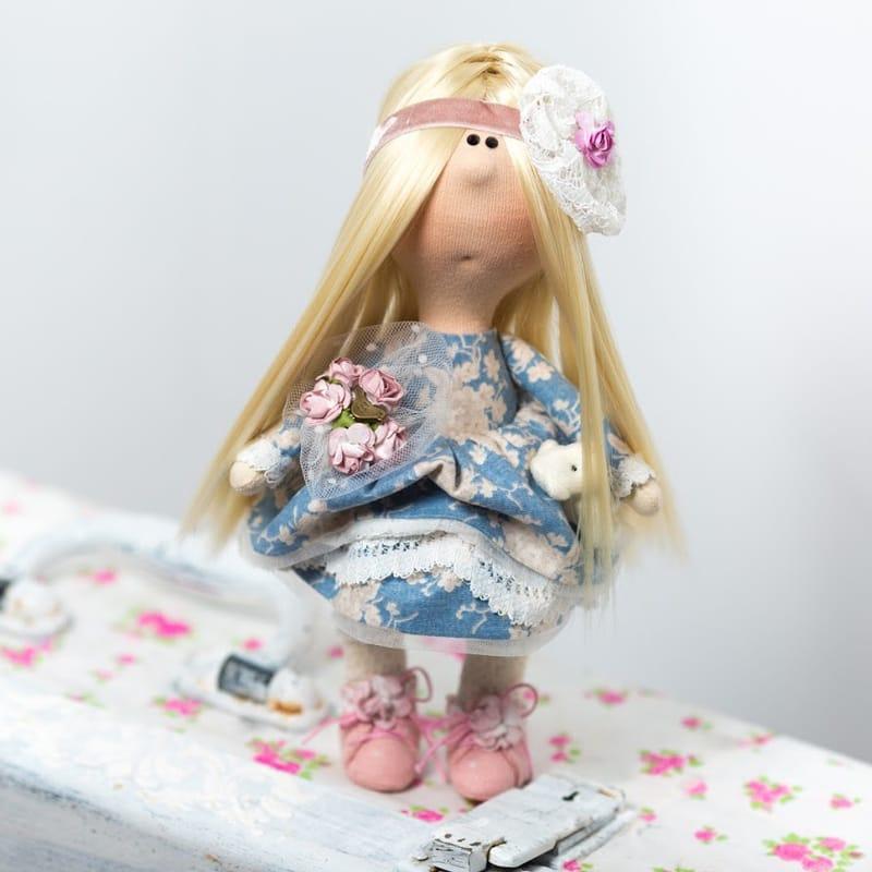 Колекційна лялька Дівчина в стилі Мильфлер