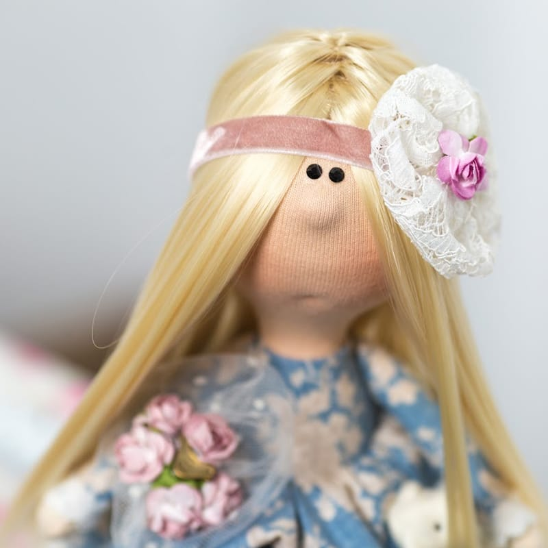текстильна Лялька Квіткова Фея