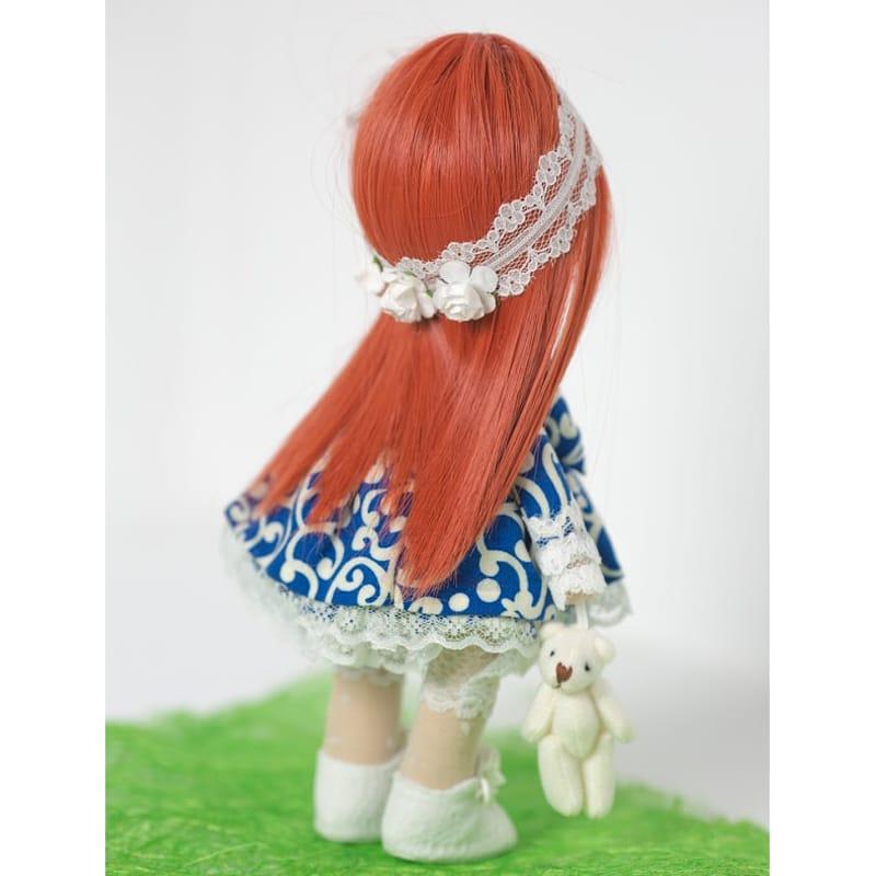 текстильна Лялька Дівчинка в Мереживах