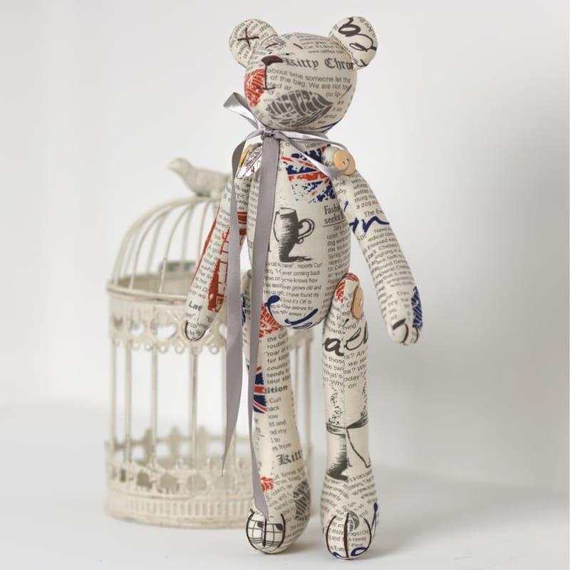 Кукла Мишка из Газеты