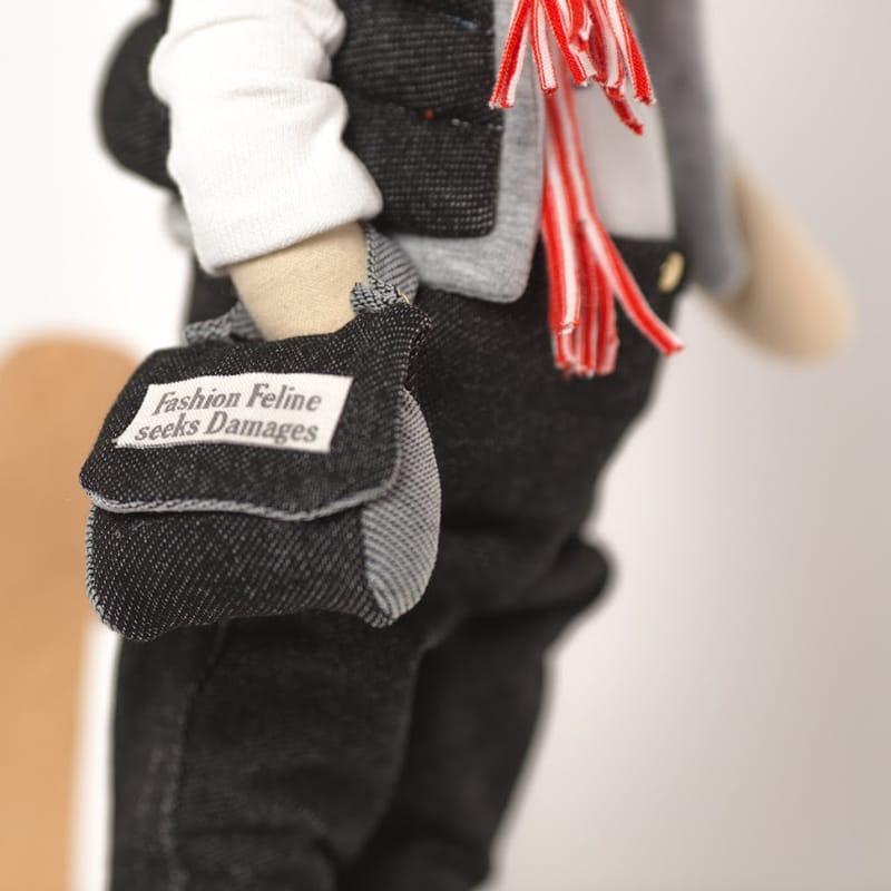 Дизайнерская кукла Зайка с Британским Флагом