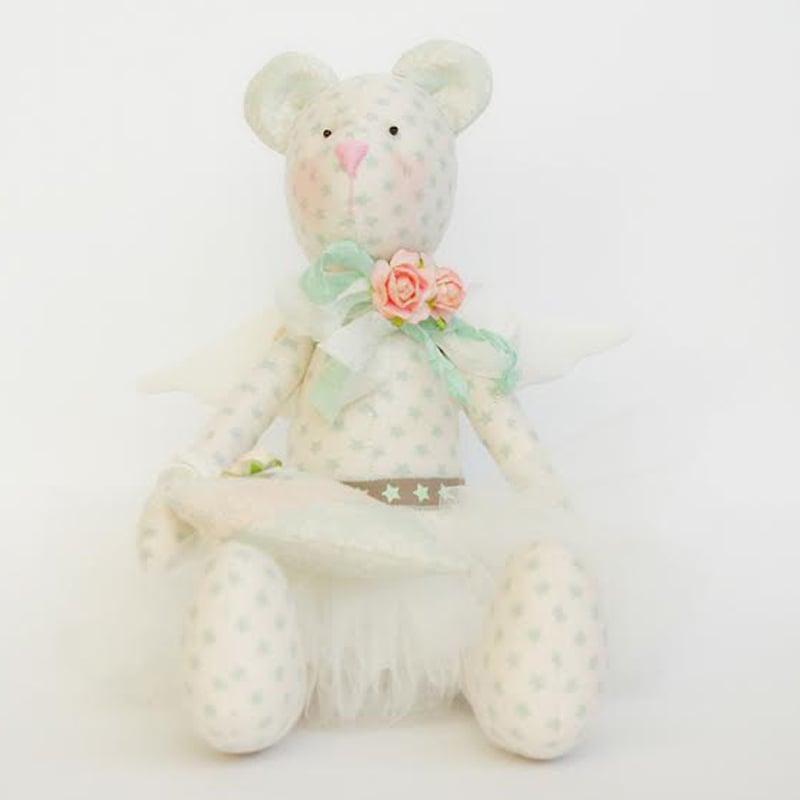 Авторська лялька в подарунок Мишко Розалінда