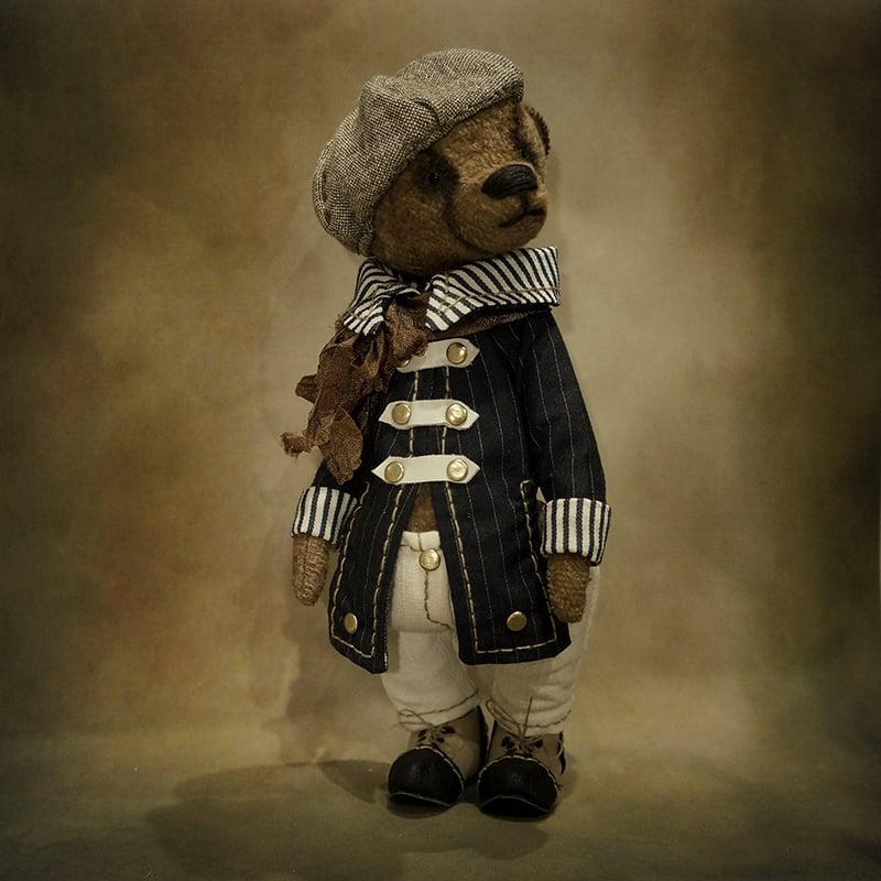 Дизайнерська лялька в подарунок Ведмедик Тедді Франт