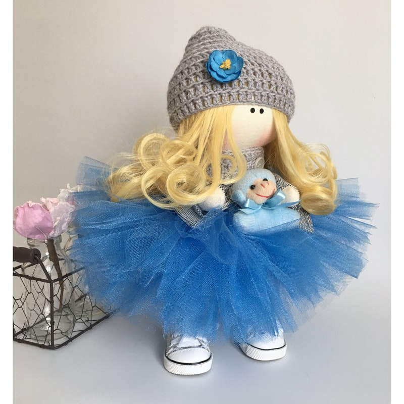 Кукла интерьерная коллекционная Марта