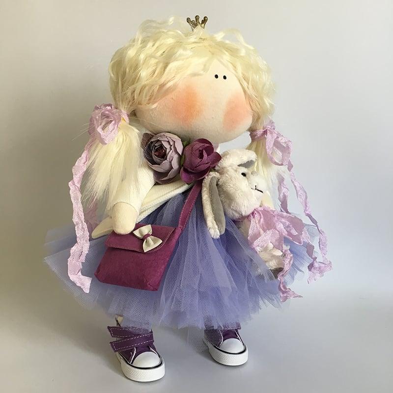 Кукла коллекционная в подарок Виолетта