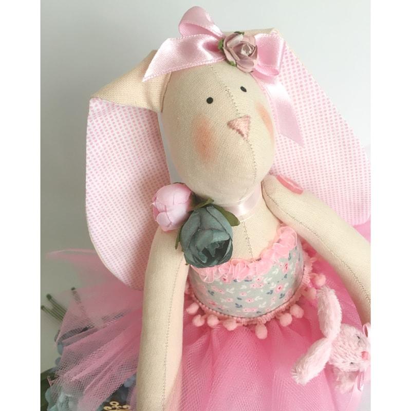 Кукла коллекционная в подарок Зайка Розалинда