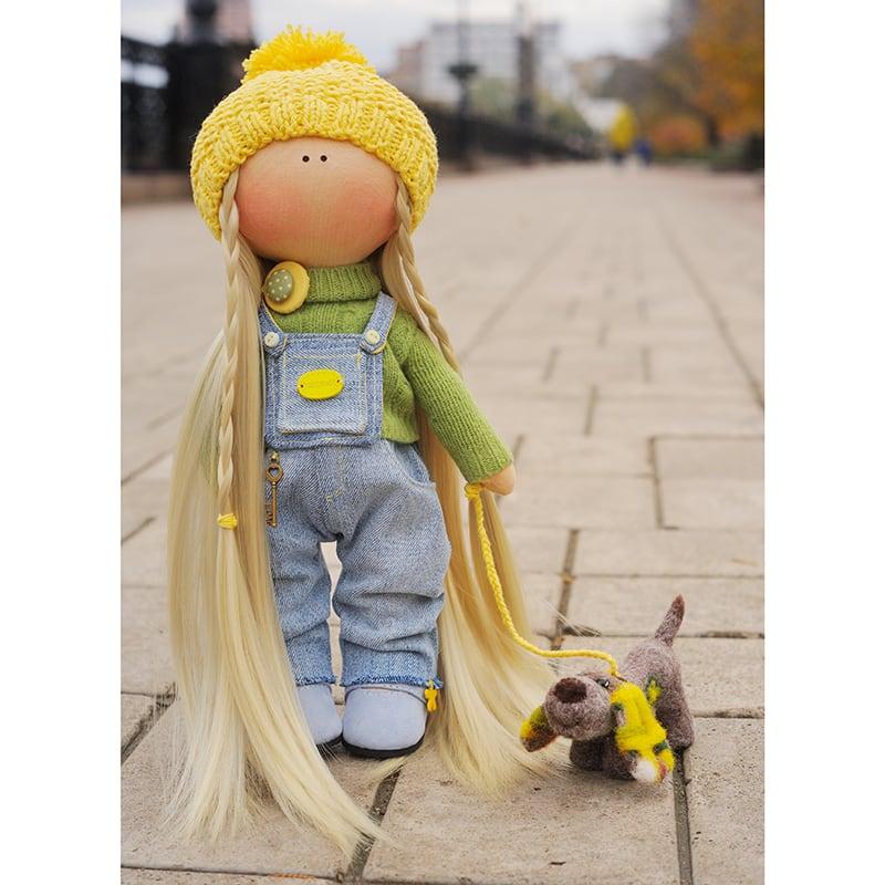 Авторская кукла тильда Эвелин