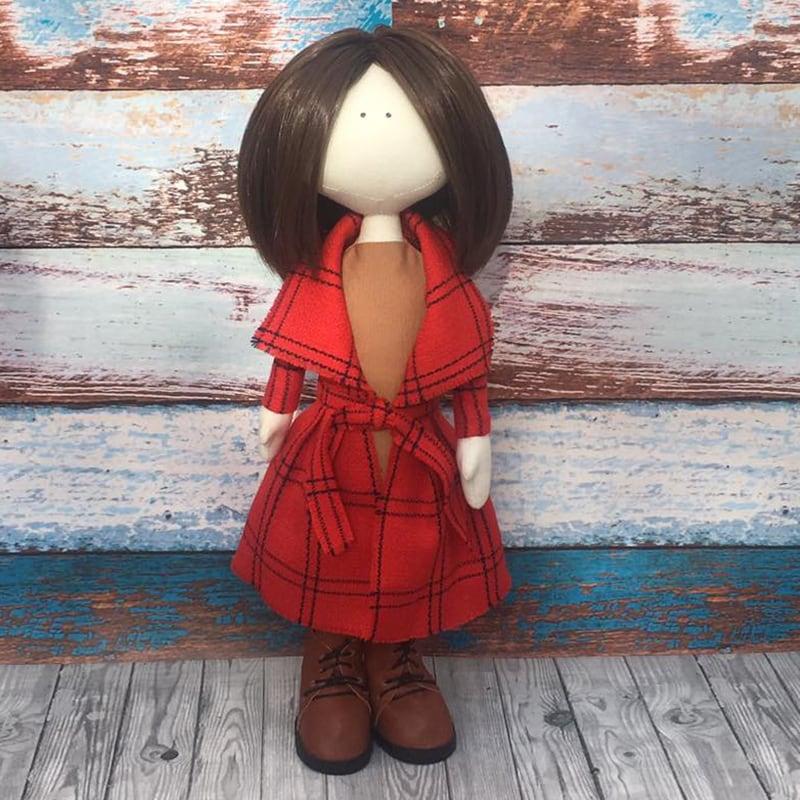 Дизайнерская кукла тильда Амалия