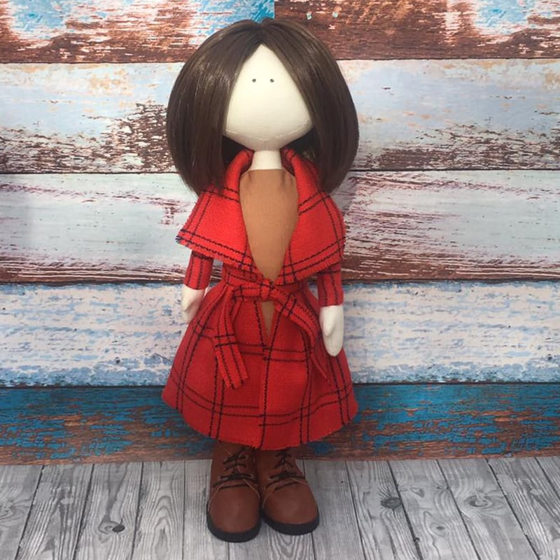 Дизайнерська лялька тільда Амалія