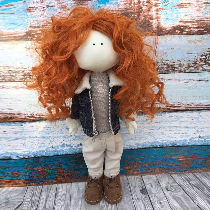 Интерьерная кукла тильда Арлин
