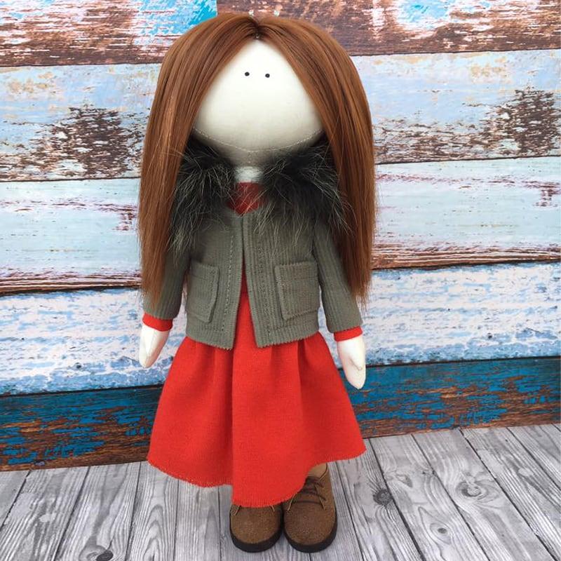 Авторская кукла тильда Алекса