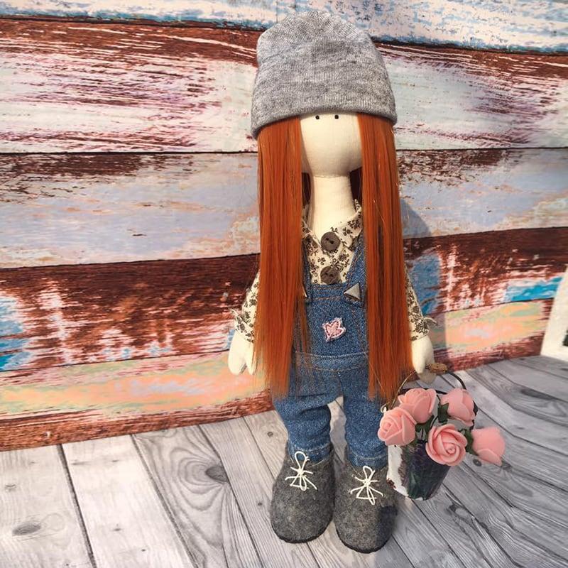 Коллекционная кукла тильда Эми