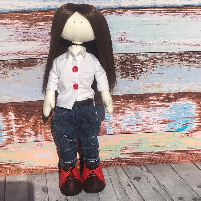 Кукла тильда handmade Джули