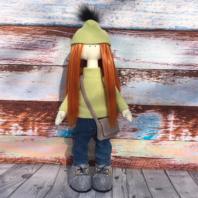Лялька тільда ручної роботи Ребекка