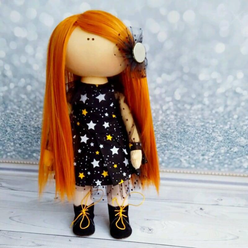 Дизайнерская кукла тильда в подарок Катарина