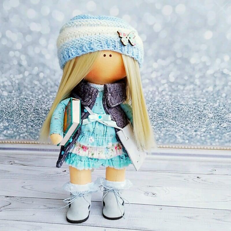 Кукла тильда коллекционная Лили