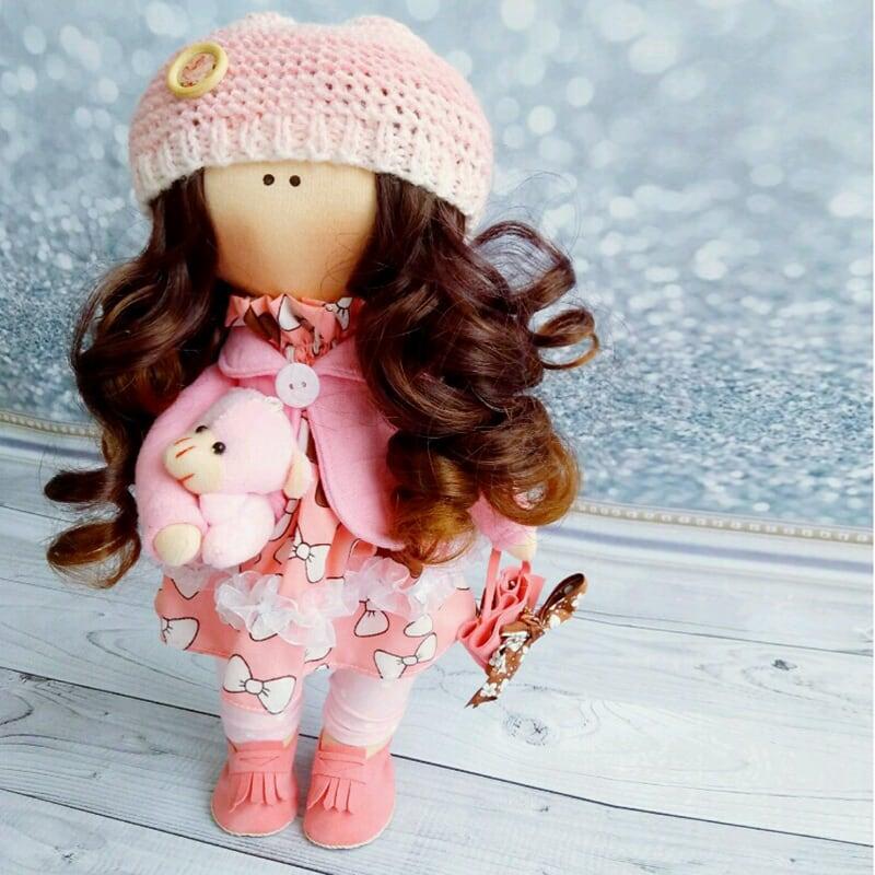 Коллекционная кукла тильда Марлин