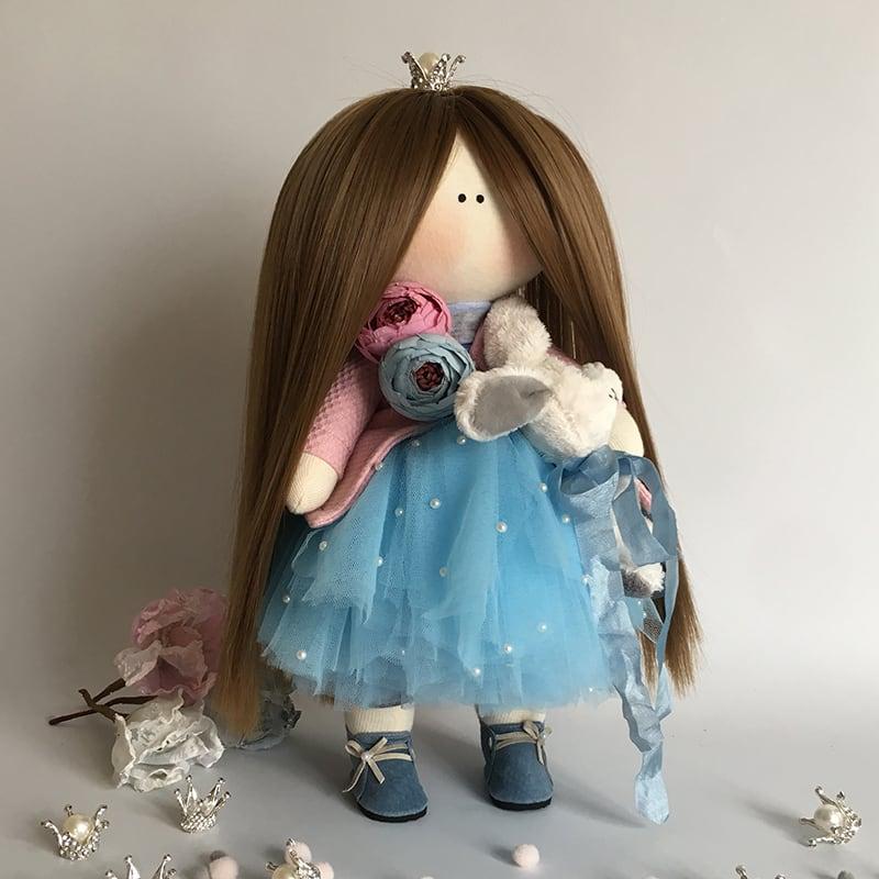 Кукла коллекционная тильда Принцесса Аврора