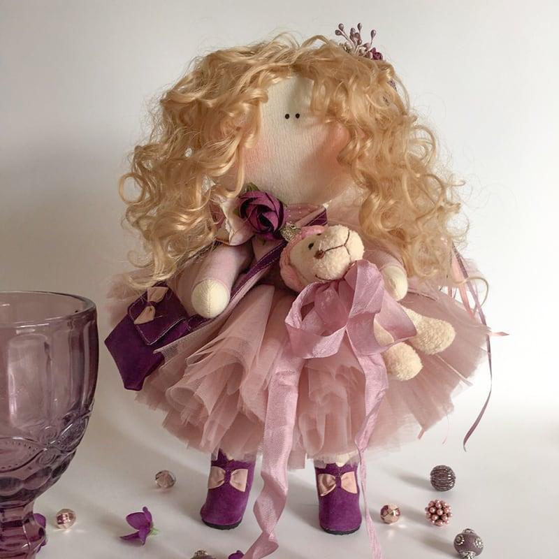 Авторская интерьерная кукла в подарок Джульетта