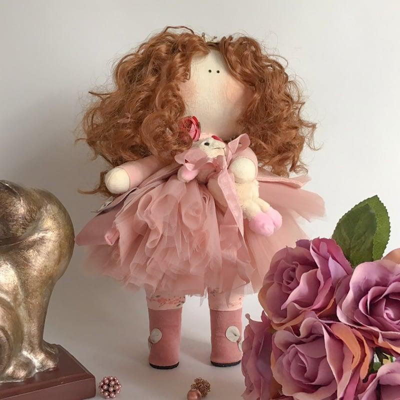 Авторская кукла тильда Принцесса Изабель