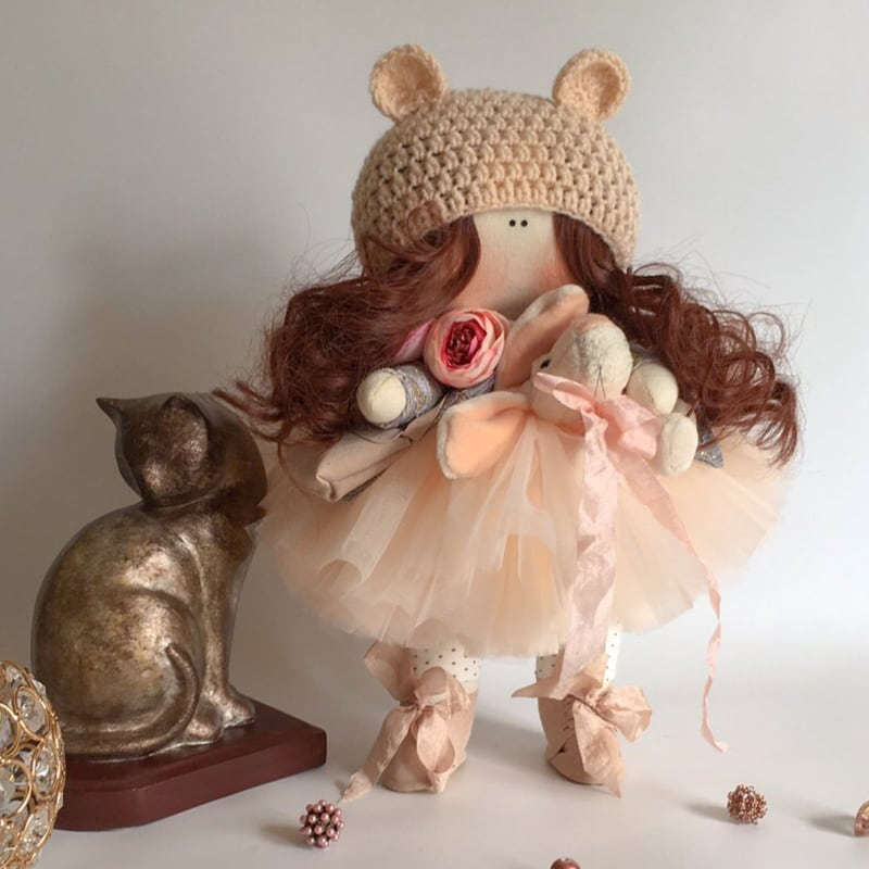 Дизайнерская кукла в подарок Элеонора