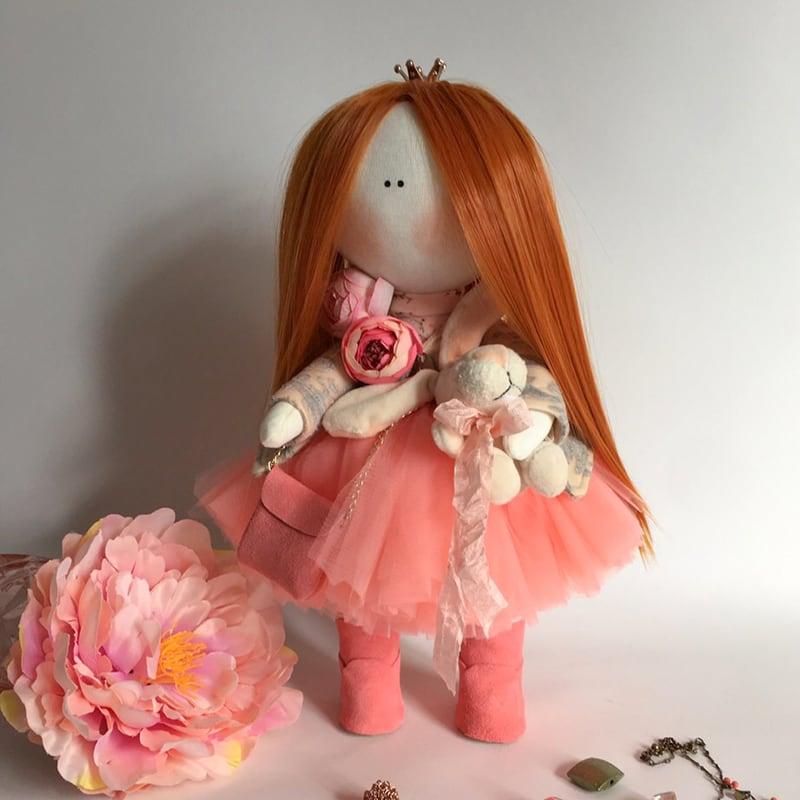 Дизайнерская кукла интерьерная в подарок Габриэль