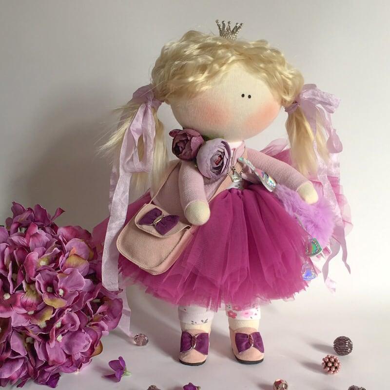 Кукла handmade коллекционная Николь
