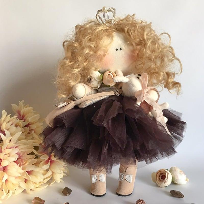 Кукла дизайнерская в подарок Джованна