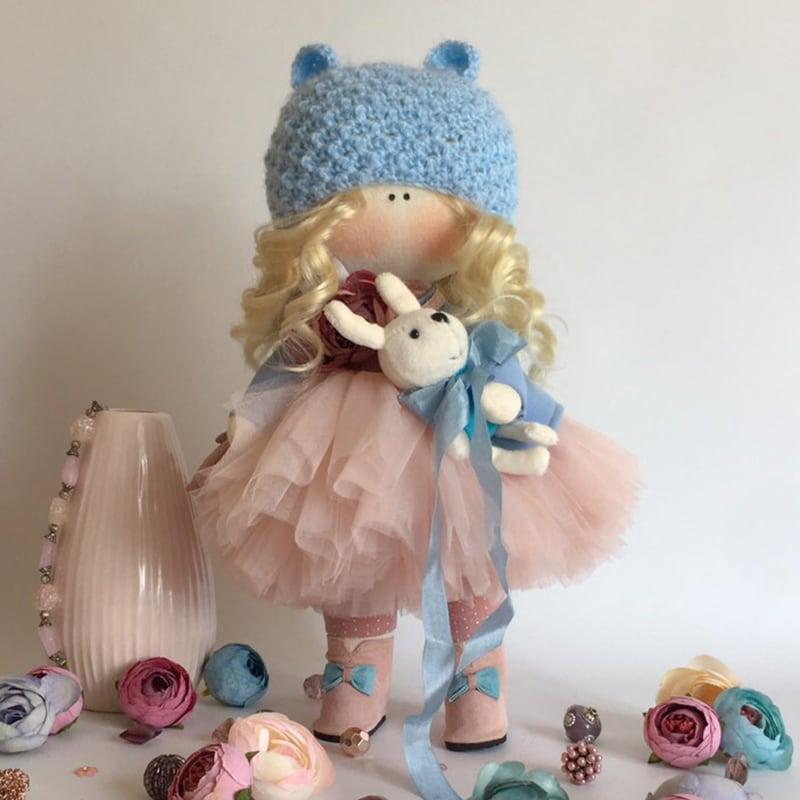 Кукла дизайнерская коллекционная Мишель
