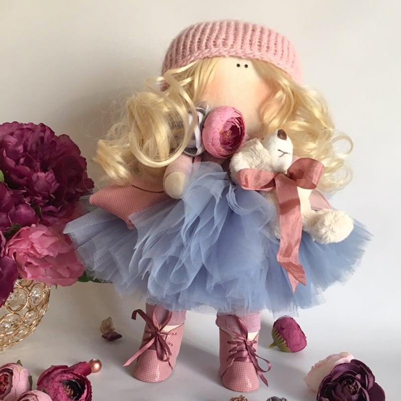 Кукла интерьерная авторская в подарок Гертруда