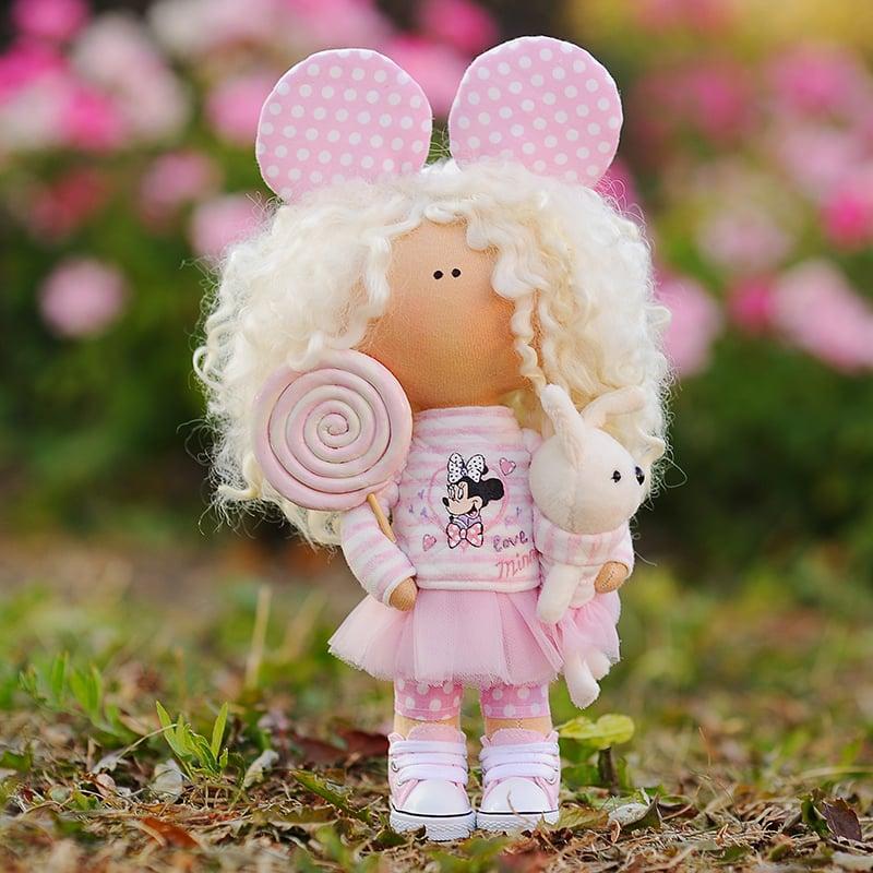 Кукла текстильная Ивон
