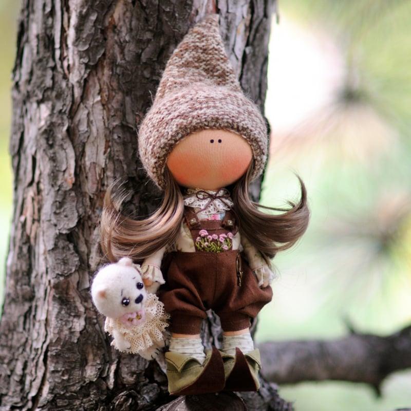 Кукла коллекционная handmade в подарок Сандра