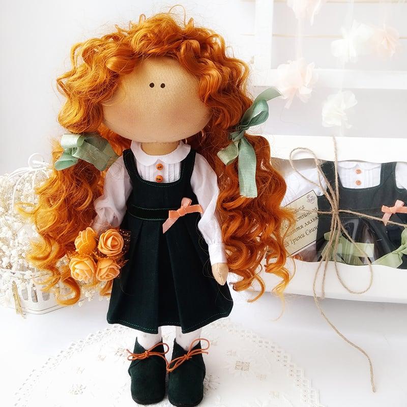 Кукла интерьерная тильда Принцесса София
