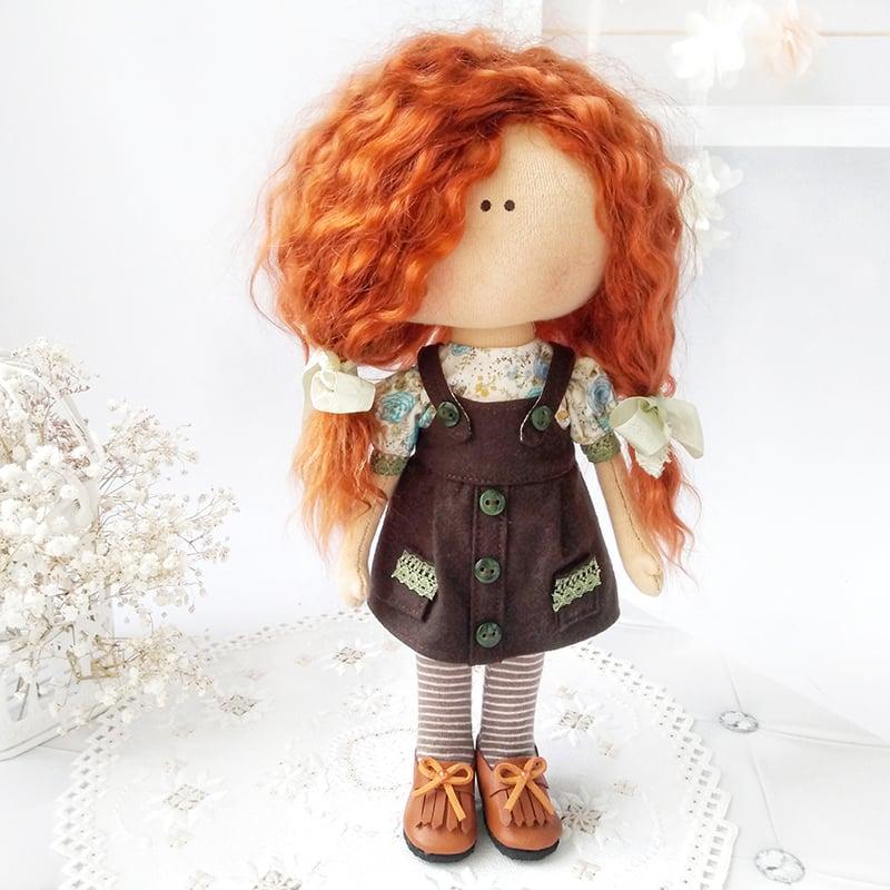 Дизайнерская кукла в подарок Шоколадница