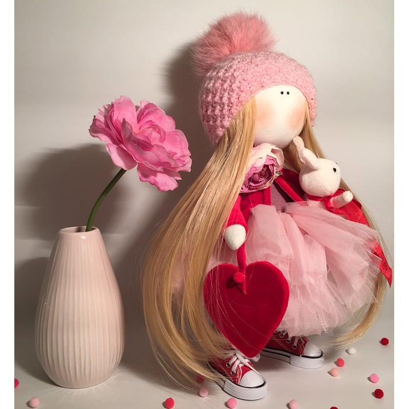 Интерьерная кукла Валентина