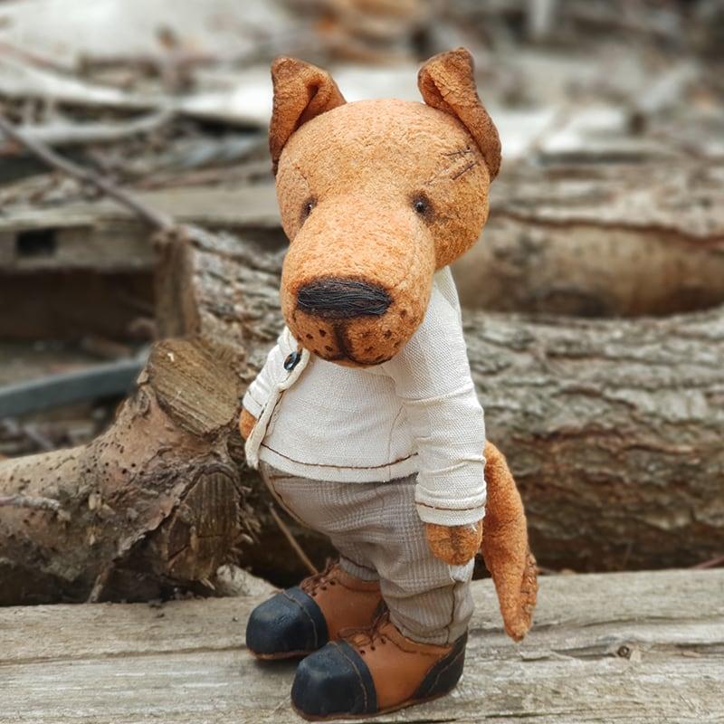 Кукла интерьерная Волчонок Джед