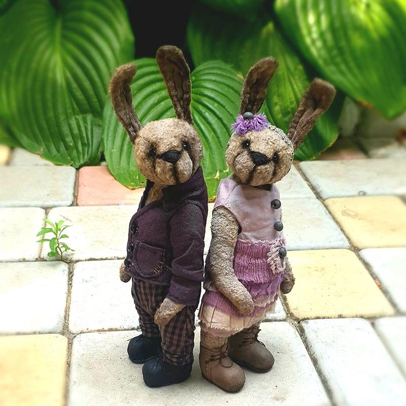 Куклы интерьерные Люси и Роджер