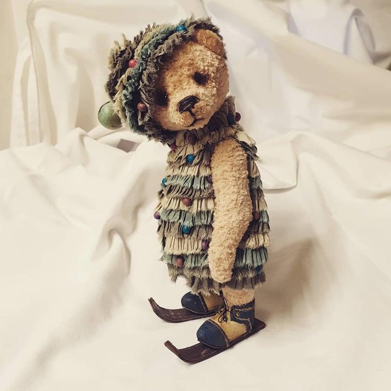Интерьерная кукла Мишка Елка
