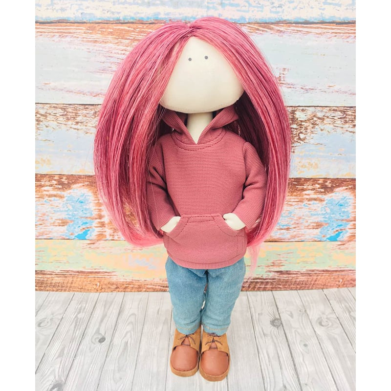 Текстильная кукла Чанти