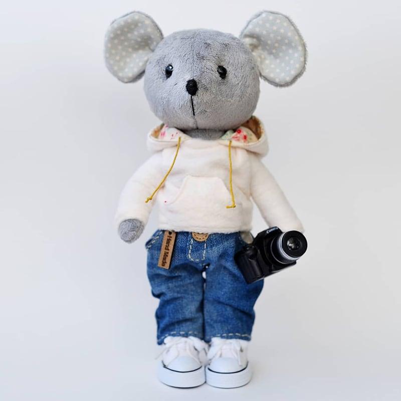 Кукла интерьерная Джек Фотограф