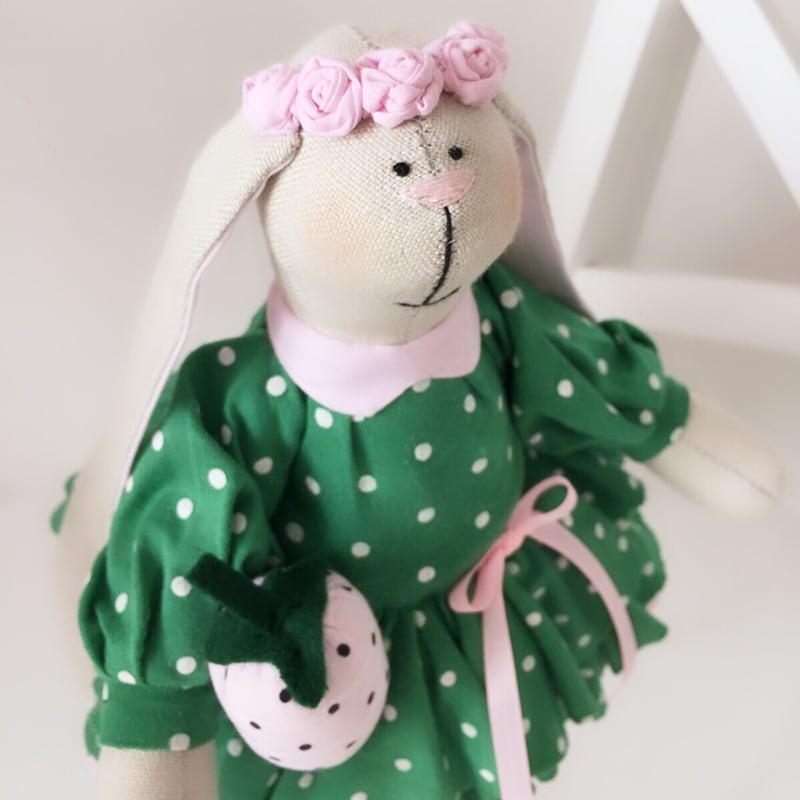 Кукла текстильная Зайка Фиона
