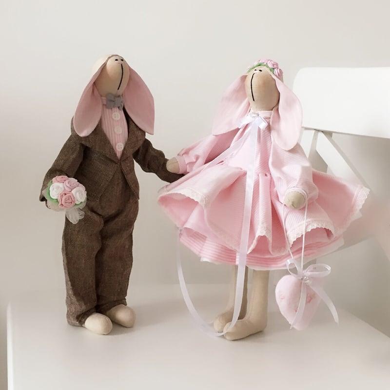 Куклы текстильные Питер и Пенни
