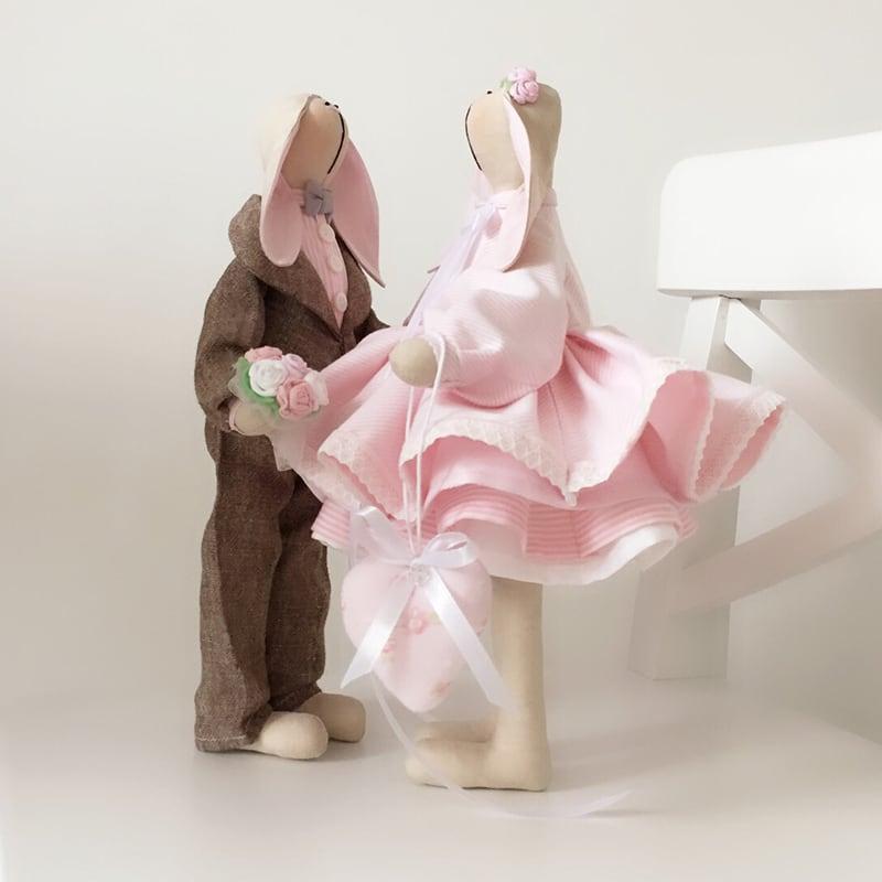 Ляльки текстильні Пітер і Пенні