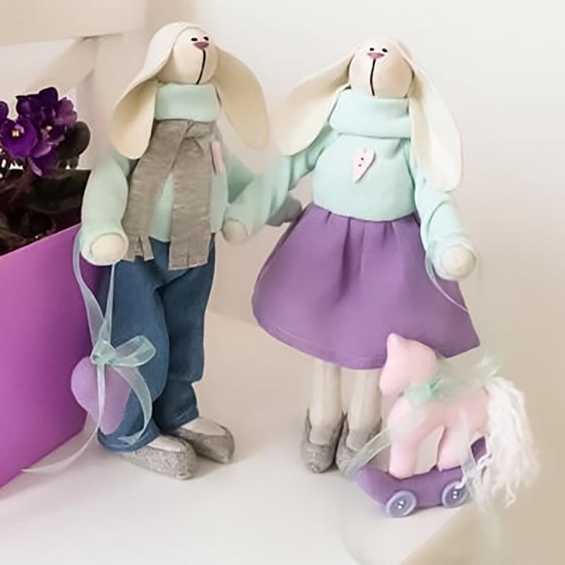 Ляльки інтер'єрні Роалд і Ребекка