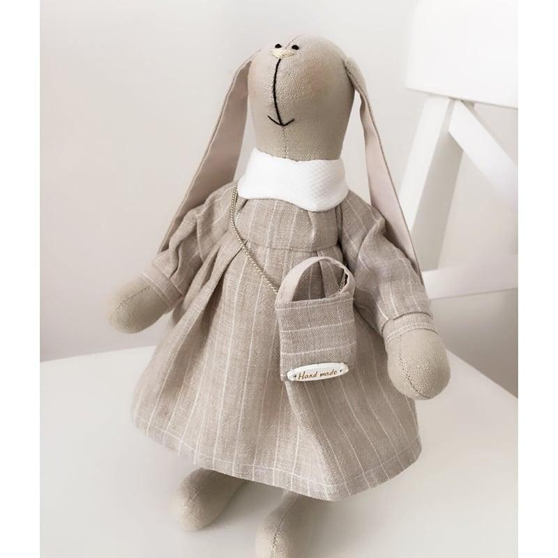 Лялька текстильна Зайка Тіра