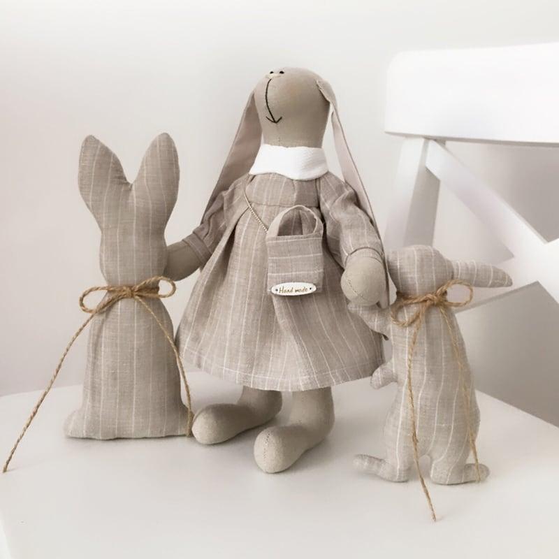 Кукла текстильная Зайка Тира