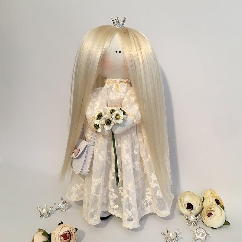 Кукла тильда принцесса Диана